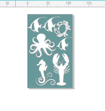 Seaside ,fish ,crab,seahorse,octopus 110 x 180 min buy 3